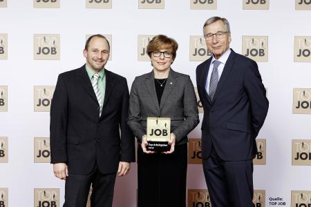 Preisverleihung TOP JOB 2017