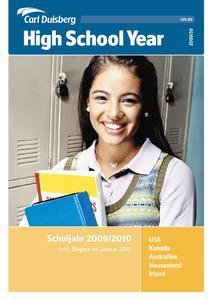 Broschürencover Carl Duisberg High School Year 2009/2010