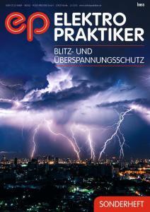 Titelbild Elektropraktiker Sonderheft Blitz & Überspannungsschutz 2016