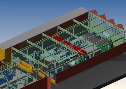 INDUSTRIE PARIS 2008: CAD Schroer Introduces the Ultimate in 2D/3D Interaction for Rapid Installation Design