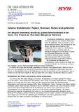 [PDF] Pressemitteilung: Defekte Stoßdämpfer, Federn, Bremsen, Reifen sind gefährlich