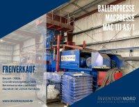 Freiverkauf Ballenpresse MACPRESSE EUROPA MAC 111 AS/1 durch InventoryNord GmbH