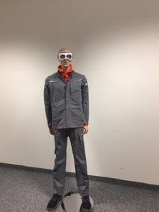 Laserschutztextilien: Jacke, Hose und Langarmshirt