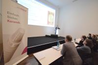 Über 7,5 Jahre Evidenz des ceramic.implant und die aktuelle Studienlage zu keramischen Implantaten referierte PD Dr. Benedikt Spies