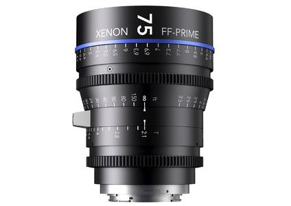 """The """"Xenon full-frame primes"""" have been especially developed for DSLR cameras with full-frame sensors for video shooting and can also be used with professional cine cameras"""