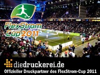 FlexStrom Cup 2011 - diedruckerei.de Sponsors the Tournament as Print Partner