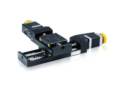 Compact linear stages which can be easily mounted to XY set-ups without using an adapter. (Source: PI)