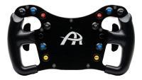 Das neue Ascher Racing Formula Lenkrad F28-SC V2 unterscheidet sich zum Vorgänger durch einen griffigeren Halblenkradkranz.