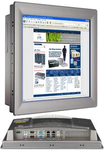 "Kompakter Touch-Panel-PC mit 17""-Display"