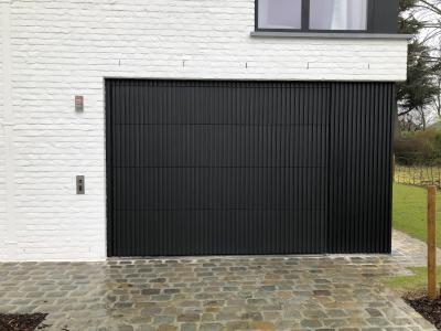 Das erste VERTICAR-Projekt wurde in einem privaten Wohnhaus im belgischen Mouscron abgeschlossen