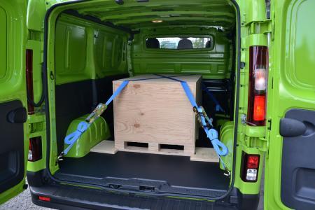 Richtige Ladungssicherung ist gerade im Kleintransporter unabdingbar