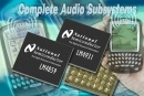 National Semiconductor stellt zwei neue Single-Chip-Audio-Subsysteme der Boomer-Familie vor