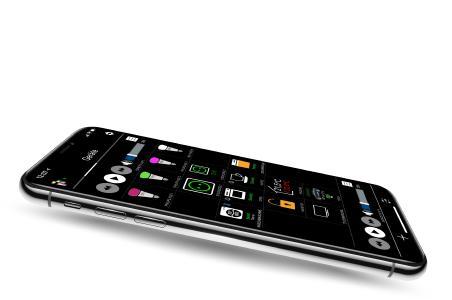 iHaus Smart Home App auf dem iPhone X