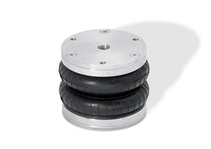 Balgzylinder von ContiTech: Als einfach wirkender Pneumatikzylinder kommen sie im Maschinen- und Anlagenbau zum Einsatz – also dort, wo Kräfte zum Heben und Pressen erzeugt werden / Photo: ContiTech