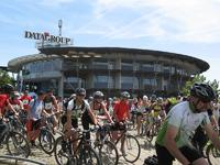 Start des DATAGROUP Bikers Day 2011 (Foto: Tabea Knabe)