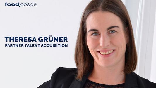 Theresa Grüner - Partner Talent Acquisition foodjobs GmbH