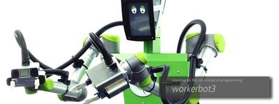 News flash: workerbot3 ™ nominated for Robotics Award 2016