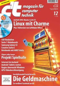 Das Titelbild der aktuellen c't-Ausgabe 12/2012