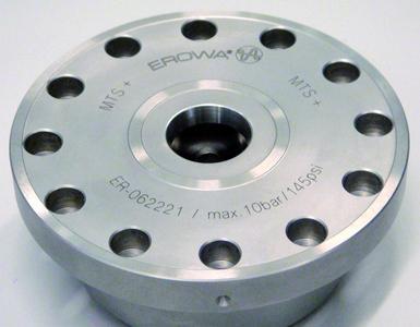 EROWA MTS+ ist bereit zum Einbau in Basisplatten, Maschinentische, auf Teilapparate und in Spannwürfel.