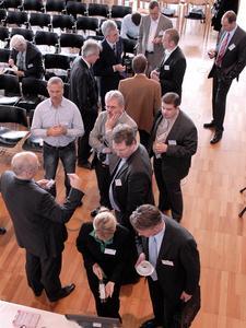 Angeregte Diskussion auf dem RFID Anwendertag 2007