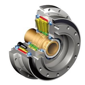 Präzisionsgetriebe F4C-D mit hoher Kippsteifigkeit und hohem Kippmoment, Schnitt, Bild: Sumitomo (SHI) Cyclo Drive Germany GmbH