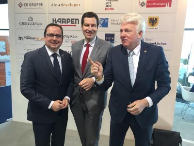 MIPIM 2017 - Metropole Ruhr im Blickpunkt der Investoren