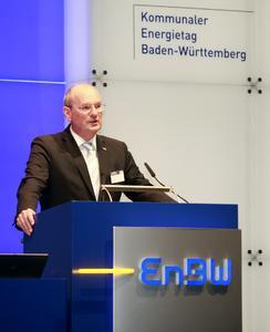 Hans-Peter Villis, Vorsitzender des Vorstands der EnBW Regional AG
