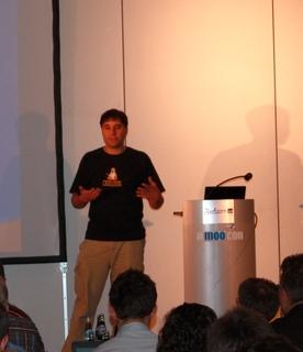 Amoocon 2009 - Mark Spencer 3 - (c) VoIPphones.de
