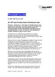 [PDF] Pressemitteilung: ALLNET and Friends bieten Fachhandel mehr
