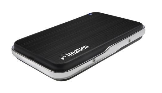 500 GB im 2,5 Zoll Format – Das Imation Apollo Portable Hard Drive bietet Speicherplatz satt
