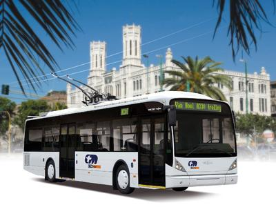 Environmentally conscious: 14 modern trolleybuses from Vossloh Kiepe and Van Hool for Sardinia