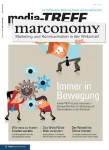 """Das passende Titelbild zum neuen Markenauftritt: aus """"media-TREFF"""" wird """"marconomy"""""""