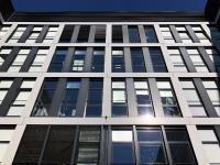 Der hochreflektierende Folienbehang schützt effektiv vor Sonnenstrahlung
