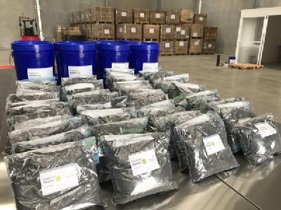 Zur Lieferung vorbereitetes Graphenprodukt / Foto: First Graphene