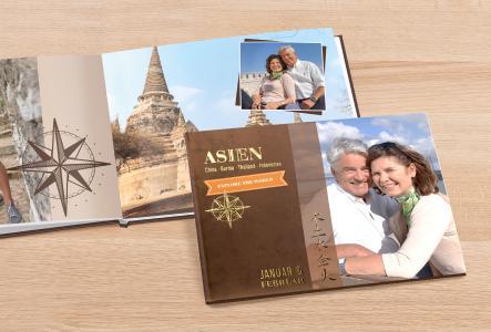 Fotobuch mit Veredelung Gold © CEWE Stiftung & Co KGaA