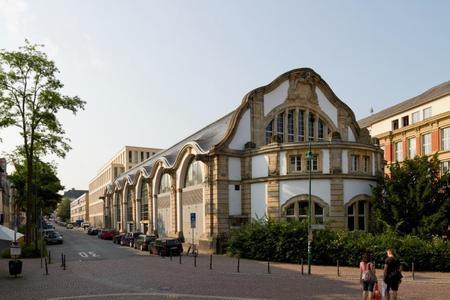 Veranstaltungsort des neuen Symposiums 4SMARTS ist das Maschinenhaus der TU Darmstadt / Foto: Thomas Ott / TU Darmstadt