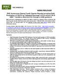 [PDF] Press Release: RNC Announces Strong Fourth Quarter Results Including Gold