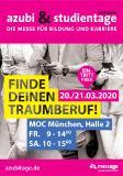 azubi- & studientage München 2020 - Anzeigen-Motiv