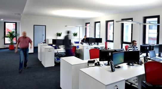 Die Büros für die ersten 34 Berliner Mitarbeiter von Würth Elektronik eiSos stehen bereit (Bildquelle: Würth Elektronik eiSos)