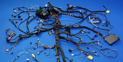 In der Automobilindustrie gehört der Einsatz von Kupferwerkstoffen in der Elektrotechnik zum Standard. © Leoni