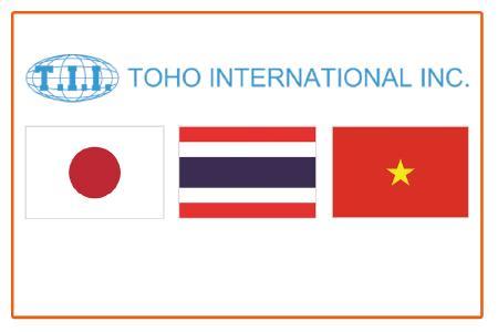 TOHO International Inc. unser Agent für Japan, Thailand und Vietnam