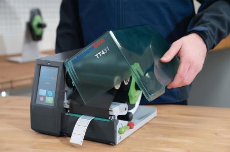 Print? Ready. Go! The new TT431 is quick and simple to use