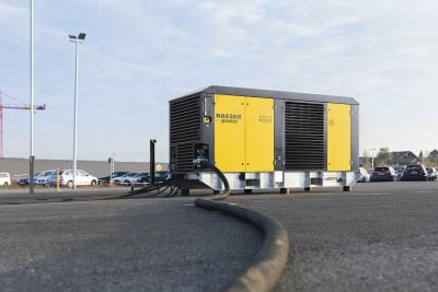Mobile e-power up to 160 kW