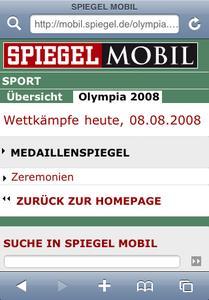 Spiegel Mobil ist bis Ende Oktober für solomo Kunden kostenlos nutzbar.