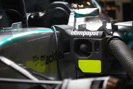 ebm-papst Ventilatoren kühlen die Seitenkästen des F1 W06 Hybrid-Rennwagens