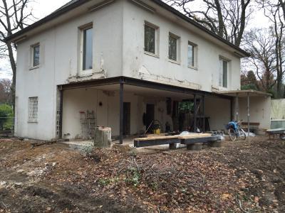 Ansicht vor dem Umbau / Bildnachweis: Erika Werres