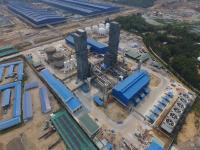 Die Investitionen der Messer Group GmbH betrafen 2018 im Wesentlichen den Bau von Luftzerlegungsanlagen wie diese in Dung Quất, Vietnam.