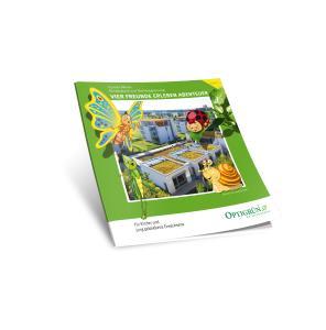Kinderbuch zur Dachbegrünung – das langersehnte Buch 2 ist nun erschienen! / Quelle: Optigrün