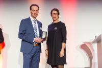 : Der Technikvorstand der Flottweg SE, Dr. Christoph Heynen, nahm die Auszeichnung entgegen