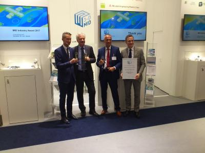 2E mechatronic GmbH & Co. KG receives the MID Industry Award 2017